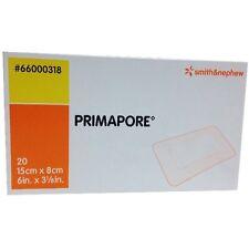 "Primapore Adhesive Wound Dressing 6"" x 3-1/8"", Box/20, Smith & Nephew"