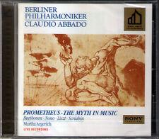 ABBADO: BEETHOVEN Die Geschöpfe des Prometheus ARGERICH Nono List Scriabin CD