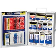 112-piece Med First Aid General Business KIT Cabinet Metal NEW LOW PRICE!