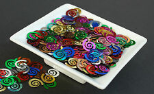 25g  Multi Coloured Spirals - Confetti, Sequins, Spangle