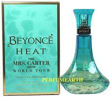 Beyonce Heat The Mrs. Carter Show World Tour 3.3/3.4oz. Edp Spray For Women Nib