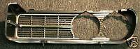 1967 and 1968 Firebird 400 Ram Air Front Bumper Grills