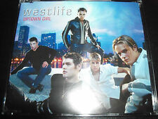 Westlife Uptown Girl Australian 4 Track CD Single - Like New