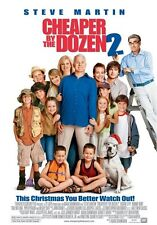 CHEAPER BY THE DOZEN 2 MOVIE POSTER ~ ORIGINAL 27x40 Steve Martin Tom Welling