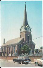 Old St Peters Episcopal Lewes Delaware DE  Postcard
