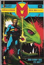 MIRACLEMAN #6 (VF/NM) ECLIPSE COMICS, COPPER AGE