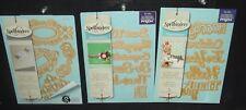 Set of 3 Spellbinders Die-Cut Packs (Cut, Emboss, Stencil)
