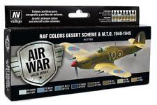 Vallejo 71.163 - Colour Kit, Raf Desert Camo WWII, 8 x 17 ML (14,56 €/ 100ml)