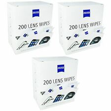 Zeiss 600 Lens Wipes Glasses Phone Tablet Screen Display Pre-moistened Cleaning