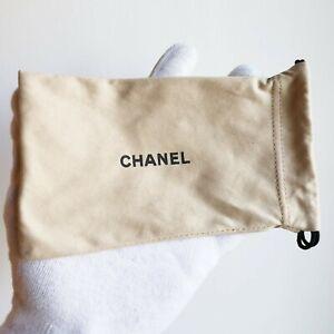 fodero dustbag CHANEL soft case vintage jewelry sunglasses occhiali da sole dust