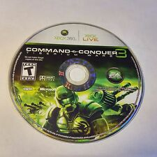 Command & Conquer 3: Tiberium Wars (Xbox 360) DISC ONLY #819