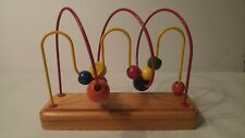 Wood and Bead Toddler Toy