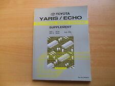Schemi electrical wiring diagram TOYOTA YARIS/Echo 08.1999 ewd401f