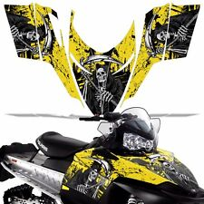 Sled Wrap for Polaris Shift Dragon RMK Graphic Snow Decal Kit Snowmobile REAP Y