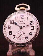 1948 Hamilton Vintage Railway Special 16s Pocket Watch Cal. 992B Serviced Clean