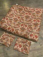Lauren Ralph Lauren full/queen comforter 2 shams burgundy floral