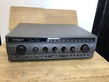 Pioneer SA-v350 Stereo Integrated Amplifier Karaoke Pro