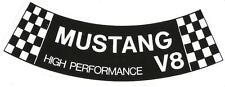 Ford Mustang air cleaner decal. NEW.