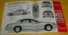 1998 1999 Lincoln Town Car Cartier 4.6 L V8 220 hp IMP Info/Specs/photo 15x9