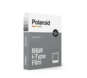 Polaroid i-Type B&W Instant Film for the Now and OneStep2 Cameras: White Frame