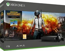 Xbox One X 1TB console Player Unknown's Battlegrounds Bundle
