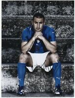 Foto Autografo Calcio Fabio Cannavaro - Hand Signed Soccer Photo Ballon d'Or