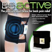 BeActive Brace As Seen on TV Acupressure Relieve Tension Sciatic Nerve Be Active