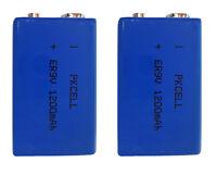 2 x ER9V Block(1200mAh)Lithium Langzeitbatterie Rauchmelder ( 2 Batterien )