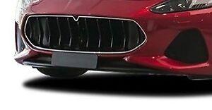 Maserati Granturismo/Grancabrio Carbon Fiber Front Bumper Spoiler (late Version)