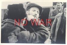 1940 OLD ORIGINAL PHOTO JEW JEWISH MEN STREET SHAVING IN GHETTO POLAND