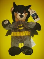 Build-a-bear 16in Batman Bear With Cape Teddy Plush DC Comics
