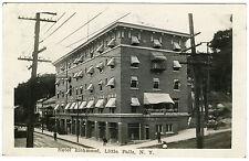 RPPC NY Little Falls 1910 Hotel Richmond Herkimer County