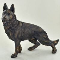 German Shepherd Alsatian Dog Sculpture Statue Ornament Dog Lover Gift