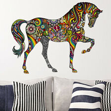 Colorful Animal Horse Wall Sticker Mural Art Decal Vinyl Kids Room Home Decor