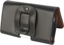 Samsung Galaxy S3 4G i9305 Universal Side-Carry Leather Pouch & Belt Clip/Loop