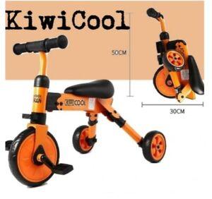 KIWICOOL 2 in 1 Kids Tricycles