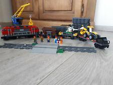 LEGO City 60098 Train de marchandises, en excellent etat