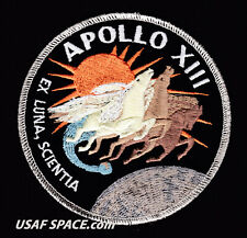 """Apollo 13 - ORIGINAL AB Emblem - Lovell - Haise - Nasa  4"""" SPACE Mission PATCH"""