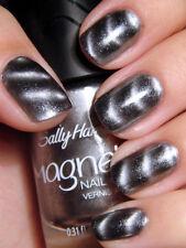SALLY HANSEN Nail Color Polish SILVER ELEMENTS Metallic MAGNETIC #903 Sealed!