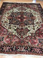 "8'6"" x 10'8"" Azerbaijani Oriental Rug - 1950s - Hand Made - 100% Wool"