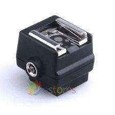 HD-N3 Flash Hot shoe Adapter For Sony Camera to Canon Nikon Flash PC socket