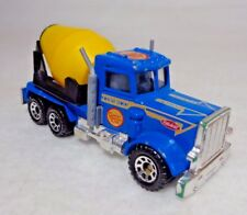 "Vintage Matchbox Toys 1981 Peterbilt Cement Co LTD Kwik Set Cement Truck 3"""