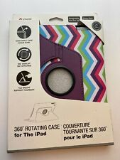 Icover By Digicom 360 Degree Rotating Case For Ipad Gen 2/3 purple pink green