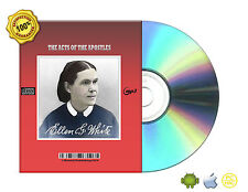 The Acts Of The Apostles By Ellen G White Audio Book Mp3 CD Transferable files