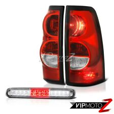 03 04 05 06 Chevy Silverado Third Brake Lamp Taillights Factory Style Assembly
