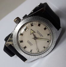 Vintage Anker Diver 25 Rubis Automatic Shockproof 6Atu Tested German Wristwatch