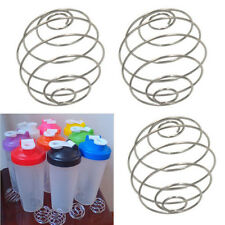 Whisk Protein Wire Mixing Mixer Ball For Shaker Drink Bottle Cup #Q