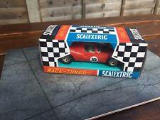 VINTAGE SCALEXTRIC RACE-TUNED FERRARI P4 C16 RACING CAR - BOXED