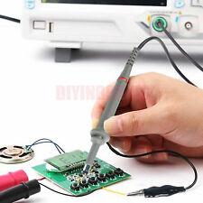 2pcs100mhz Oscilloscope Scope Analyzer Clip Probe Test Leads Kit Fr Hp Tektronix