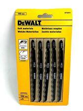 DEWALT 152MM JIGSAW BLADES FOR SOFT MATERIALS DT2201